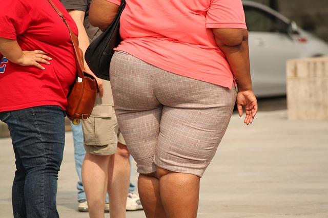 žena s nadváhou