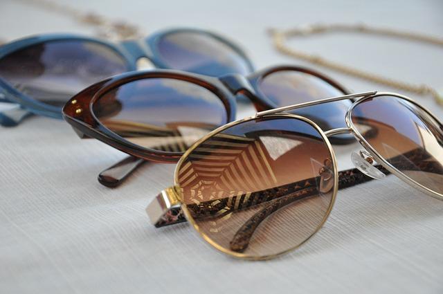 sluneční brýle výběr