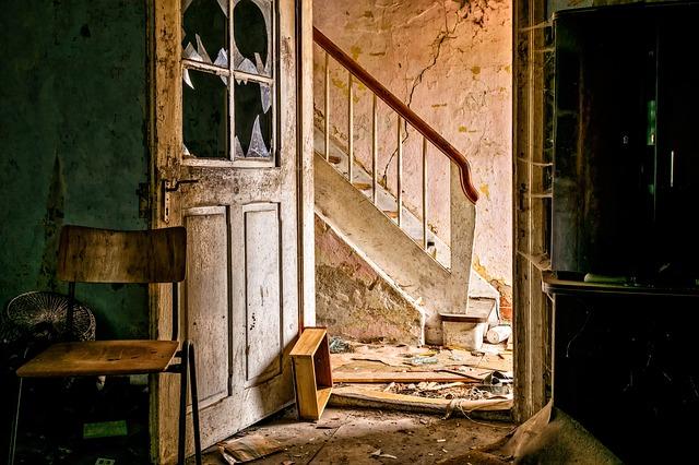 staré schody