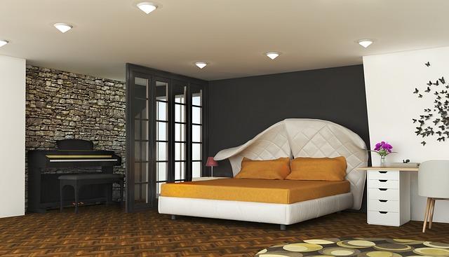 Moderne zariadená spálňa s manželskou posteľou.jpg