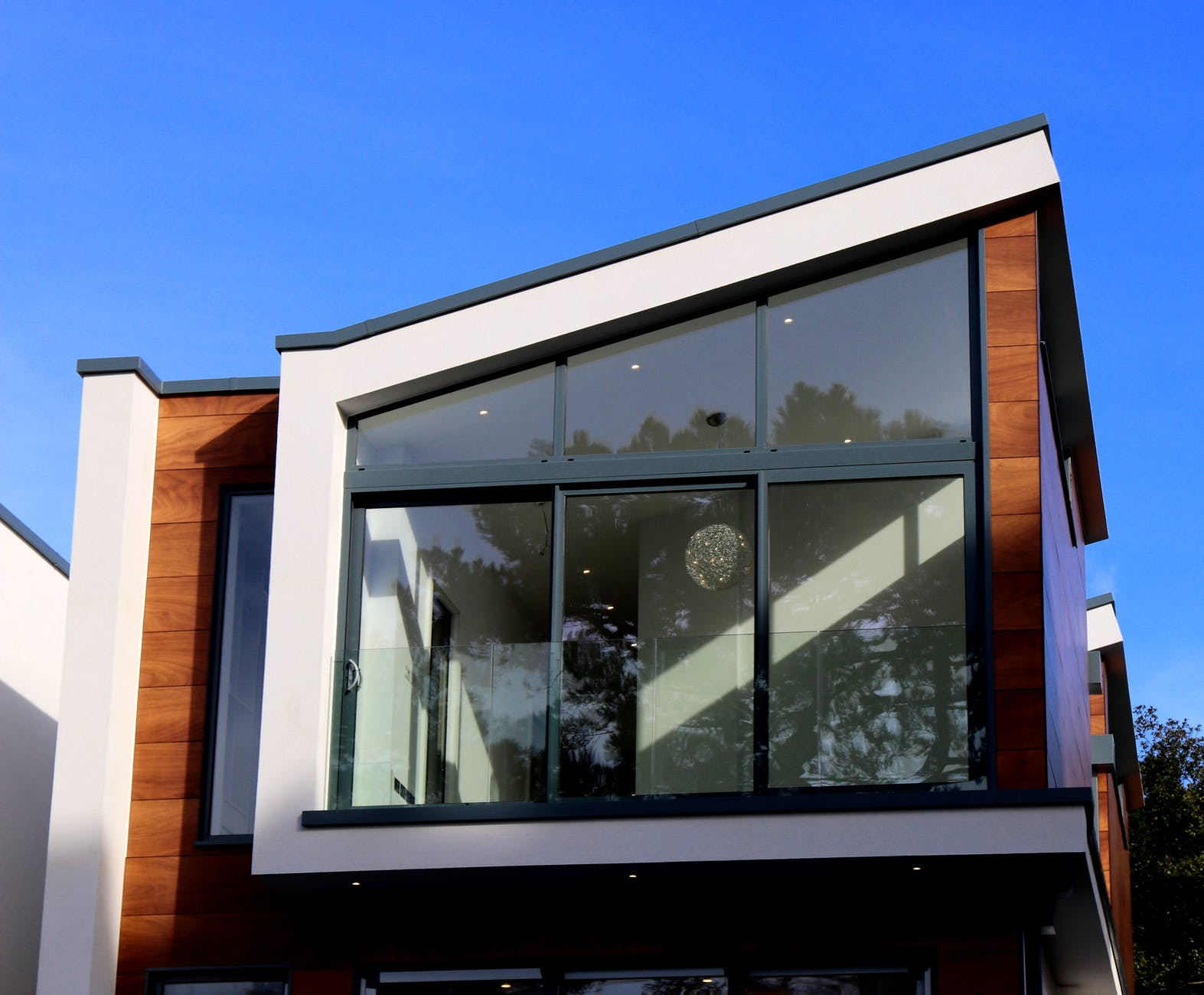 sklenené okná, dver